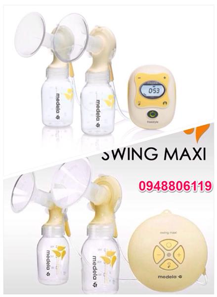 So sánh 2 loại máy hút sữa Medela FreeStyle và Swing Maxi