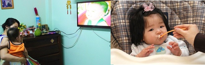 Trẻ Việt xem ca nhạc, ti vi mới ăn còn trẻ Nhật chỉ tập trung vào ăn