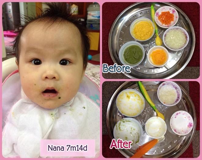 Bé ở Nhật được tập ăn thô từ 7 tháng tuổi còn trẻ Việt Nam đến hơn 2 tuổi