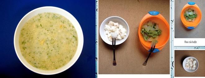 Trẻ con Nhật tập ăn thức ăn thô từ 7 tháng tuổi