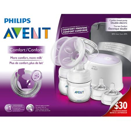 Máy hút sữa Philips Avent Comfort Naural đôi