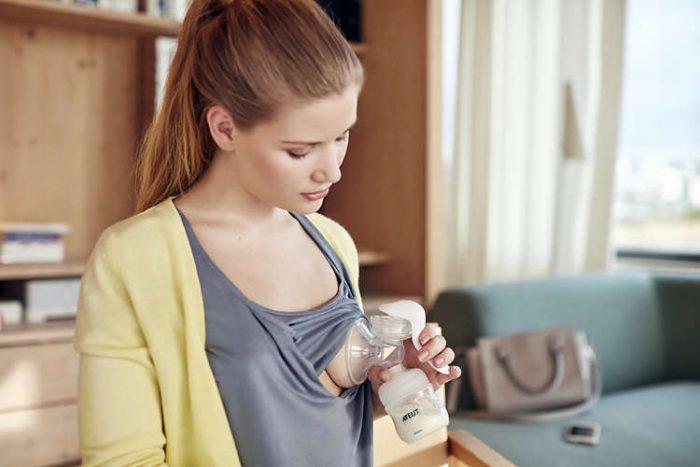Máy hút sữa Philips AVENT tay