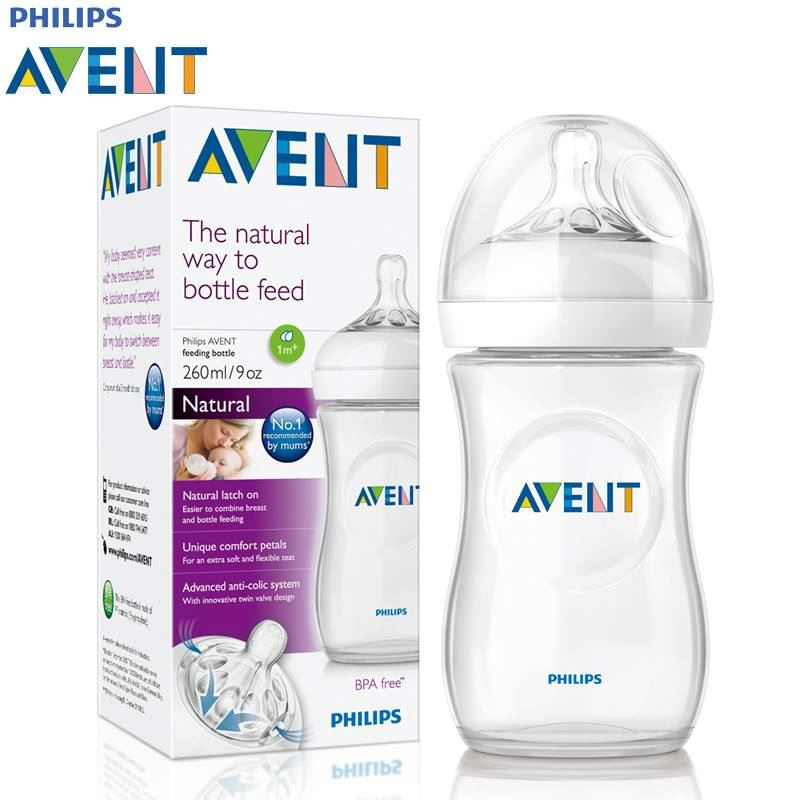 Bình sữa Avent tự nhiên 260